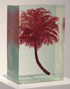 Dustin Yellin sculpture