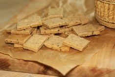 U nás na kopečku: ... slané celozrnné krekry... Feta, Great Recipes, Dip, Good Food, Cheese, Snacks, Cooking, Party, Blog
