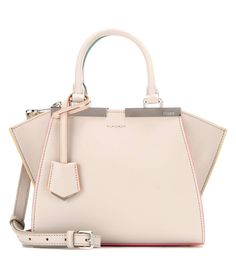 FENDI 3Jours Mini Leather Tote. #fendi #bags #shoulder bags #hand bags #leather #tote #lining #