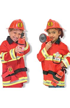 Melissa & Doug 'Fire Chief' Costume (Toddler) available at #Nordstrom