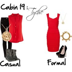"""""""Cabin 19: Tyche"""" by idmiliris on Polyvore"""