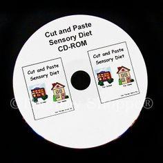 Cut and Paste Sensory Diet CD