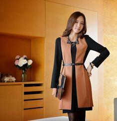 Los vestidos confeccionados según el gusto de las mujeres coreanas, tienen una característica en particular, son casi siempre cortos. No...