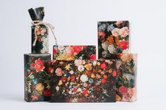 Dutch Still Life Wrapping Paper by NormansPrintery on Etsy