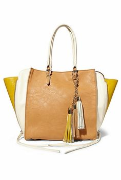 d2704be3a4f5 Big Buddha Daniela Bone Handbag  thinkher.com. Great Handbag! Vegan  Shopping