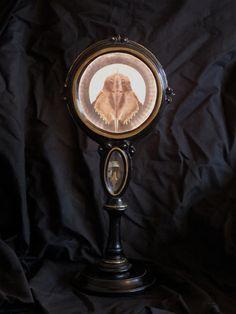 Reliquary with horseshoe crab Horseshoe Crab, Contemporary, Mirror, Home Decor, Art, Art Background, Decoration Home, Room Decor, Mirrors