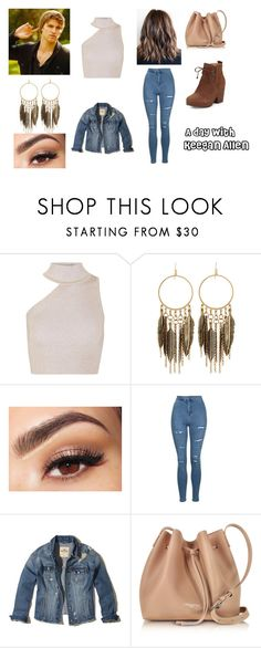 """""""A day with Keegan Allen"""" by giulianna-carboni ❤ liked on Polyvore featuring beauty, Cushnie Et Ochs, Panacea, Lancôme, Topshop, Hollister Co., Lancaster and Eileen Fisher"""