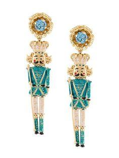 Dolce & Gabbana Nutcracker earrings