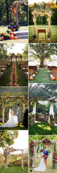Why Is Everyone Talking About Fall Wedding Ceremony Ideas? - Why Is Everyone Talking About Fall Wedding Ceremony Ideas? Wedding Ceremony Ideas, Fall Wedding Arches, Fall Wedding Colors, Wedding Venues, Wedding Reception, Autumn Wedding, Fall Wedding Centerpieces, Fall Wedding Cakes, Fall Wedding Invitations
