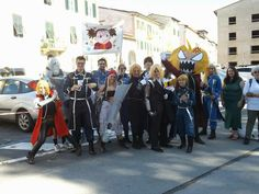 Lucca 2015 full metal alchemist cosplay group