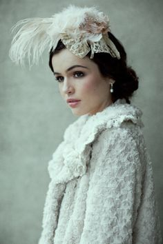 Feather headband from Ruche