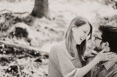 sweet couple session in the woods by Miriam Peuser Photography