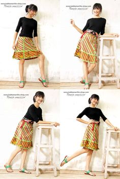 Batik Amarillis webstore  www.batikamarillis-shop.com. Batik Amarillis s  Arcana Skirt Tap Batik Amarillis s folksy spirit with this beautifully A  Line ... 9837e068e3