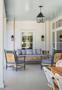 Powder Blue Porch Ce