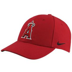 Men s Los Angeles Angels of Anaheim Nike Red Wool Classic Adjustable  Dri-FIT Hat 701ef80f2c5c