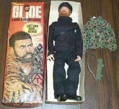 12 inch Vintage GI-Joe Hasbro Action Figures