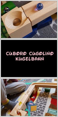 Jetzt wird gemurmelt mit der Cuboro Cugolino Kugelbahn