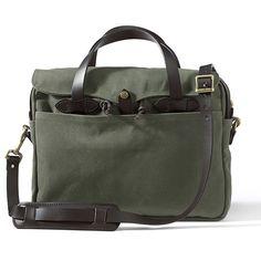 Filson 256 Original Briefcase - Otter Green or Tan