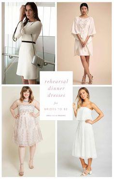 Rehearsal dinner dresses for bride to be  #weddingplanning #bridetobe #rehearsaldinner #whitedresses