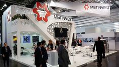 Our Recent Work in Wire & Tube Dusseldorf 2018 for METINVEST. Exhibition Stand Builders, Eastern Europe, Netherlands, Germany, Italy, India, France, Tube, Design