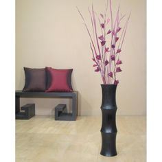 thinking of putting some fake flowers in a floor vase, just getting some ideas for arrangements