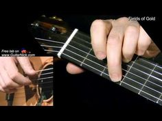 Fields of Gold - Sting: fingerstyle + TAB! Guitar lesson - YouTube