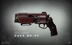 Bungie : Notícias : Destiny Drawing Board: Duke MK.44