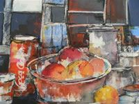 The Art World directory of artists from South Africa features South African artist Diane White - Acrylics, Oils and watercolours by Diane White. South African Artists, White Acrylics, Art World, Painting, Painting Art, Paintings, Painted Canvas, Drawings