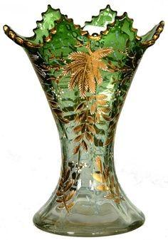 MOSER STYLE ART GLASS