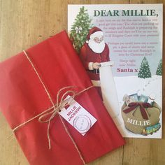 2018 letter from santa telegram santa messages and xmas personalised childrens letter from santa spiritdancerdesigns Choice Image
