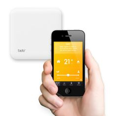 iPhone Controllable Thermostat Reducing Energy Costs In Your Home: Tado° Amazing