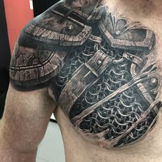 Tattoo uploaded by kirill mamontov armor armortattoo witchertattoo witcher fantasy madmamont 834980 tattoodo black and grey armor tattoo by bus at tattoos forever in fort walton beach florida tattoosforever com Armor Sleeve Tattoo, Armour Tattoo, Shoulder Armor Tattoo, Body Armor Tattoo, Sleeve Tattoos, Schulterpanzer Tattoo, Norse Tattoo, Viking Tattoos, Chest Tattoo