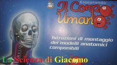 La Scienza di Giacomo - Com'è fatto il corpo umano - Poster istruzioni d...