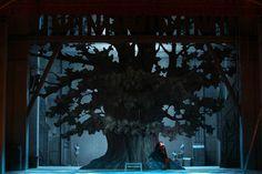 Tree & Forest. Falstaff at the Lausanne Opera, Switzerland, 2011