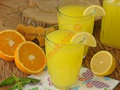 Patisserie Lemonade Recipe, How to Make? Lima, Smoothie, Monthly Menu, Puffed Rice, Lemon Slice, Almond Cakes, Lemon Recipes, Turkish Recipes, Special Recipes