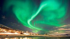 Schnell noch weg - Tipps für entspannte Ausflüge zum Jahresende | Nordlicht über Kvaloysletta