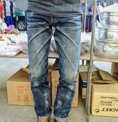 Raw Denim, Blue Denim, Blue Jeans, Nudie Jeans, Denim Jeans Men, Levis, Edwin Jeans, Abs Boys, Style Masculin