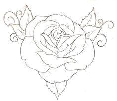 rose tattoo stencil designs tattoos pinterest tattoo stencils rh pinterest com rose tattoo template rose tattoo stencil