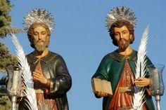Hoy, 26 de septiembre,  celebramos a ... San Cosme y San Damián: Dos santos hermanos médicos muy queridos por su generosidad