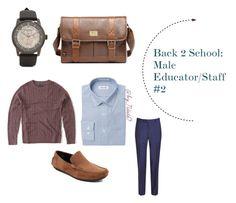 """Back 2 School: Guys #2"" by nconukogu on Polyvore featuring Abercrombie & Fitch, Pierre Cardin, Joseph Abboud, Baldessarini, men's fashion, menswear, BackToSchool, MensFashion, byndidio and indigo7me"