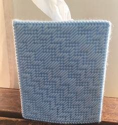 Tissue Box Covers, Tissue Boxes, Kleenex Box, Plastic Canvas Crafts, Bargello, Scottie Dog, Covered Boxes, Handmade Items, Handmade Gifts