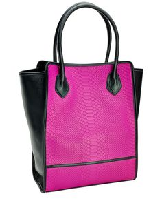 """Spotted this GiGi New York """"Julia"""" Embossed Leather Shopper on Rue La La. Shop (quickly!)."""