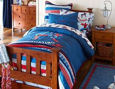I want to get this for my 4 1/2 year olds bed room love it .    I love the Pottery Barn Kids Spider-Man™ Bedroom on potterybarnkids.com