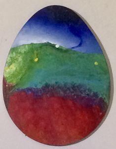 43cm, öl auf Holz, #IstvanSeidel Egg Shape, Artist At Work, Shapes, Light Art