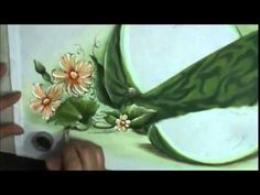 Como pintar melancia - How to paint watermelon - YouTube