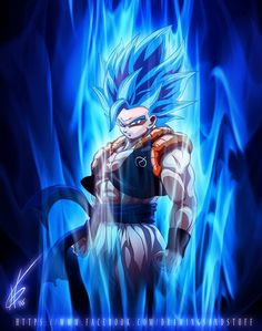 #Gogeta #blue #dragon ball