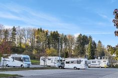 Stellplatz an der Waldsee-Therme Bad Waldsee Motorhome, Recreational Vehicles, Travel, Rv Camping, Trips, Rv, Camper Van, Caravan Van, Viajes