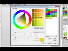 The Color Palette Designer in Digital Scrapbook Artist 2 - YouTube Serif, Craft Tutorials, Digital Scrapbooking, Photoshop, Palette, Palette Table, Pallet, Tally Marks