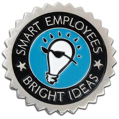 Smart Employees Pin Front