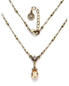 """""""Golden Shadow"""" Necklace - Sweet Romance"""
